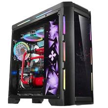 Cheap China manufacture gamer desktop computer i5 Win10 16GB 1TB HDD SSD GTX060 6GB GPU personal system unit 22 inch gaming PC