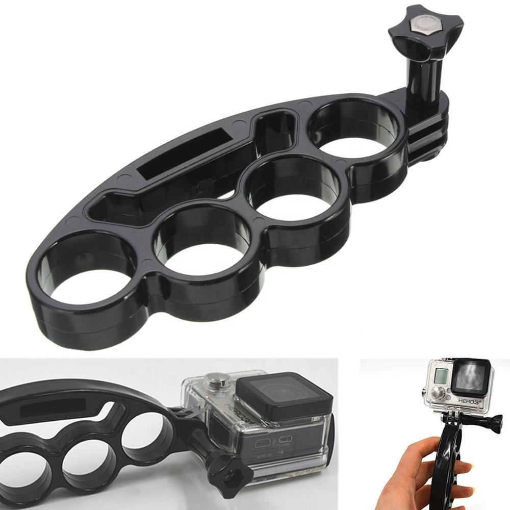 Plastic Handheld Knuckles Hand Finger Grip Mount Handle Holder for Gopro Hero 7/6/5/4/3/3+/2/1 Xiaomi yi Action Camera SJCAM