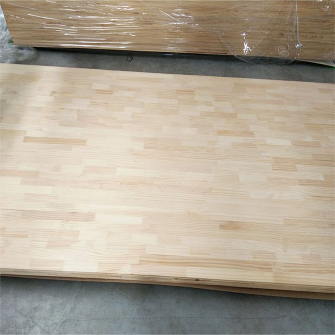 Hot sale factory direct furniture s4s timber chile pine lumber poplar finger joint board