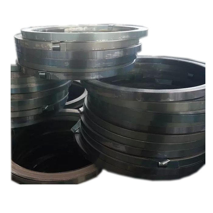Good price low carbon steel ss400 metal strapping bands strip