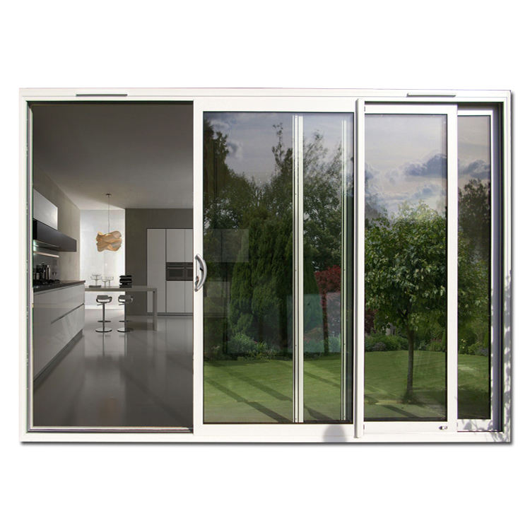 Chinese Manufacturer New Design DoubleTempered Glass Commercial Door