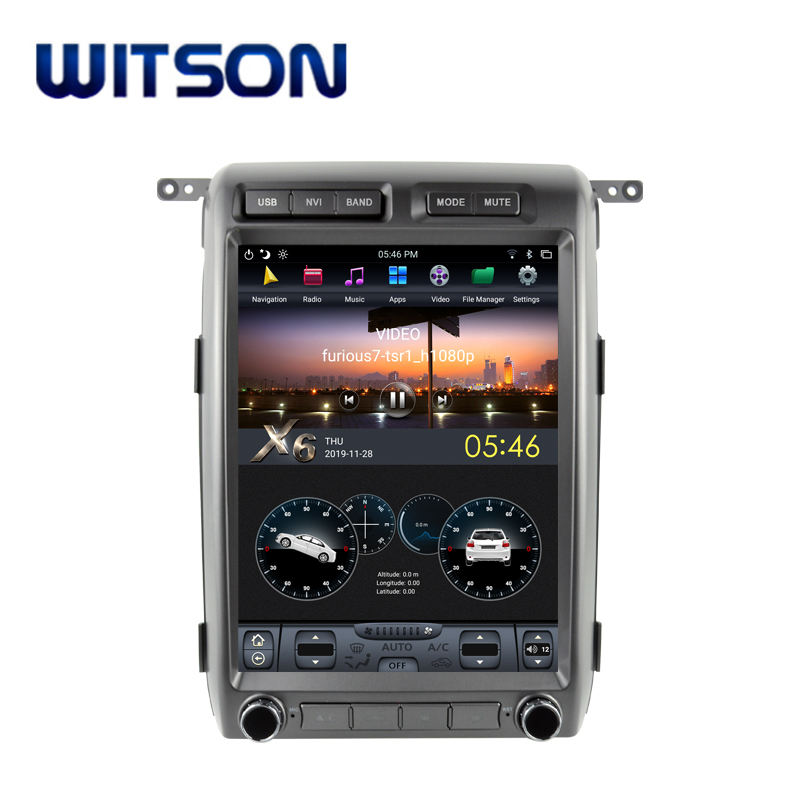 WITSON Android 9.0 System Multimedia Player Car For FORD F150 2009-2012 HIGH 4G Ram 32G Flash DVD Car Player
