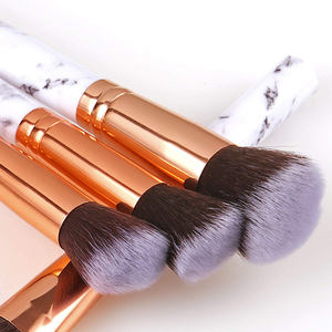 High grade bamboo make up brush set beauty cosmetic tool
