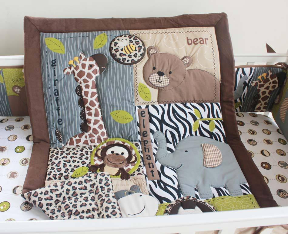 Hot selling high quality baby crib bedding set