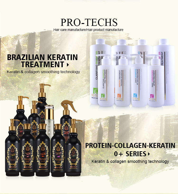 OEM Private Label Keratin 0% Formaldehyd Behandlung Begradigung Creme