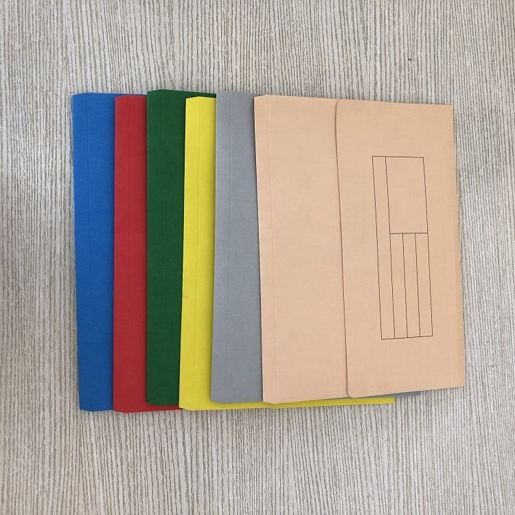 Colorful Paper FC Document Wallet