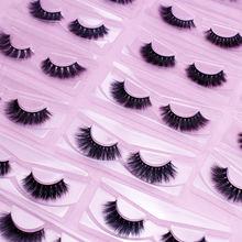 Wholesale 3d faux mink 15-17mm eyelashes vendor synthetic eyelash own brand custom lashes packaging box