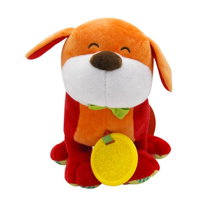 Plush Animal Soft baby Dog Soothing Toys With Sound Funny Sound Toy