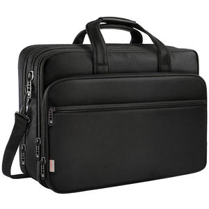 Grote 17 Inch Laptop Tas Water Resistant Business Messenger Aktetassen Voor Mannen En Vrouwen Past 15.6 Inch Laptop Tablet
