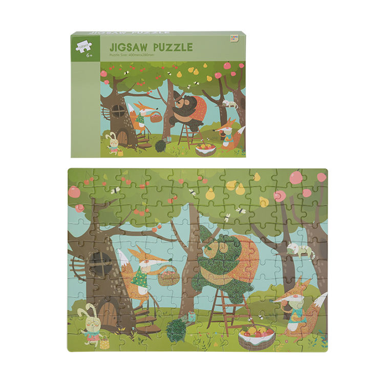 Unique design hot sale puzzles kids jigsaw wholesal high quality jigsaw puzzle