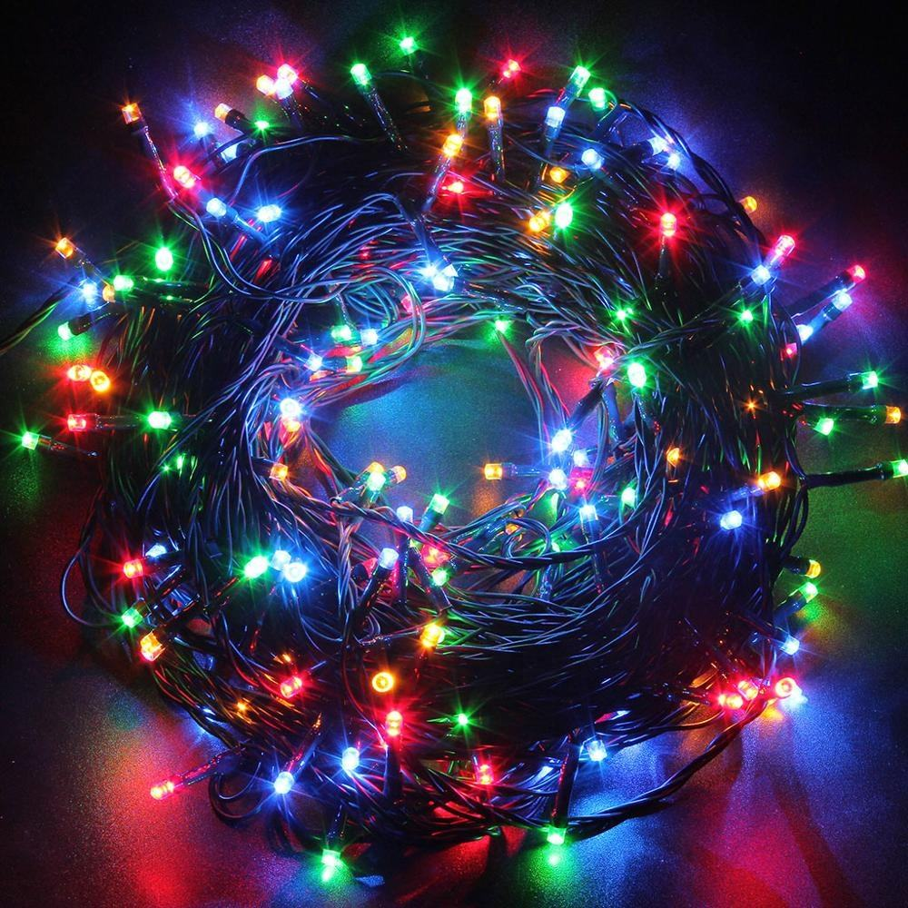 Custom Wedding Outdoor Party Decorative Led String Light Christmas Tree Lights