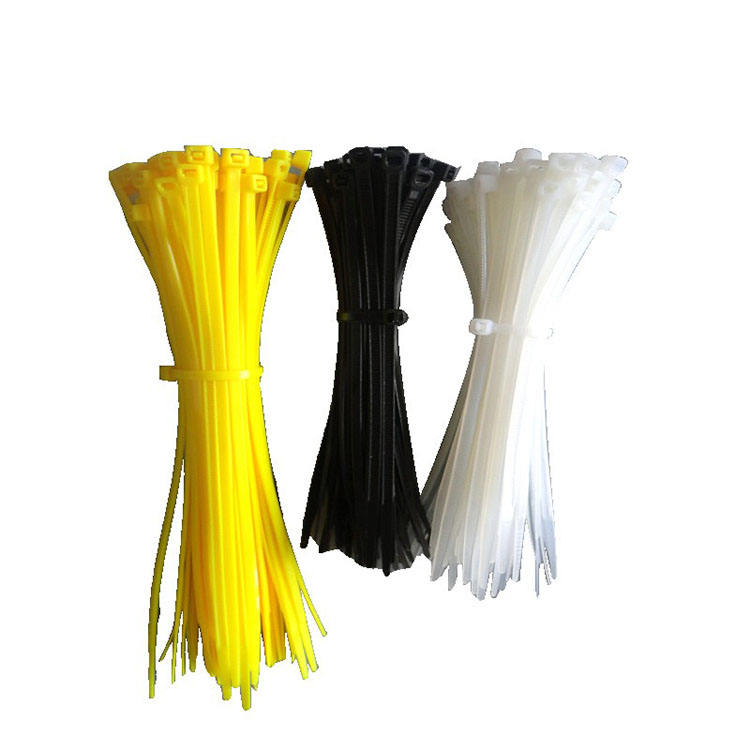 Raw Material Nylon 66 Wasserdichte Locking Kabelbinder Straps