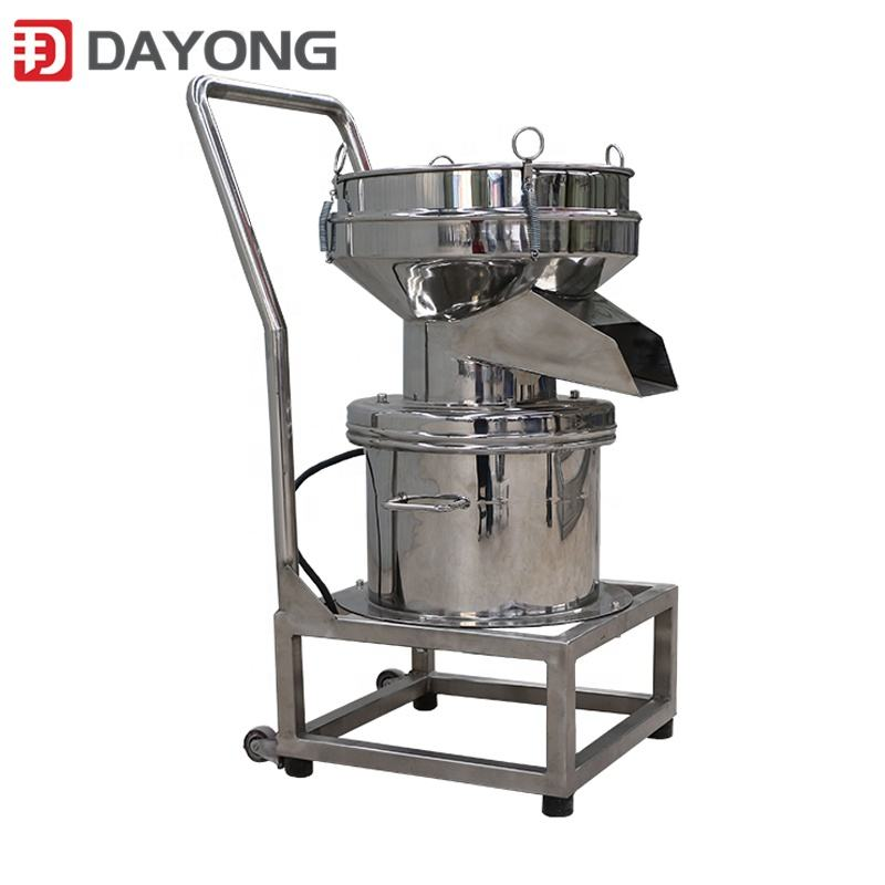 DY450 liquid screening fruit juice filter sieve shaker equipment