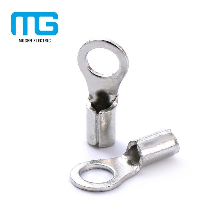 Rnb series non-insulated ring copper terminals 22-16 awg 10 terminal lugs
