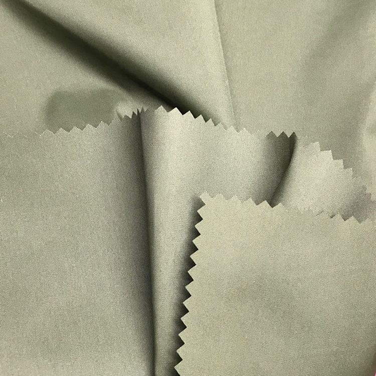 Waterproof Block Sunlight Protection PVC Coated 70d 100% Nylon 210t Taffeta Raincoat Fabric