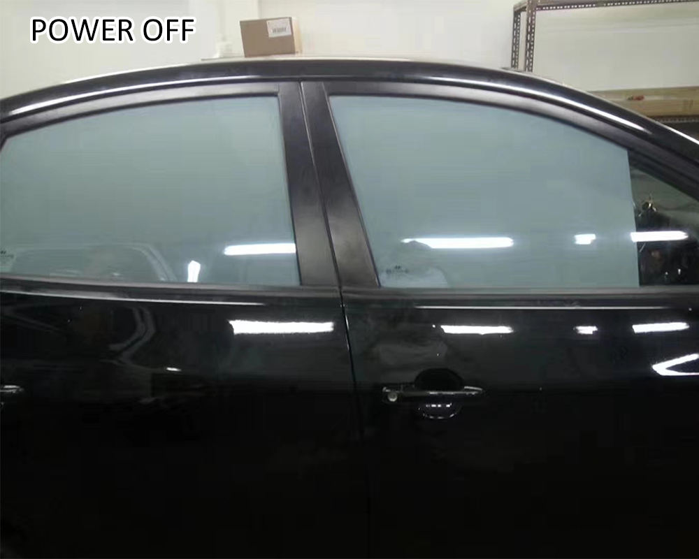 low power consumption electric tinted glass for car