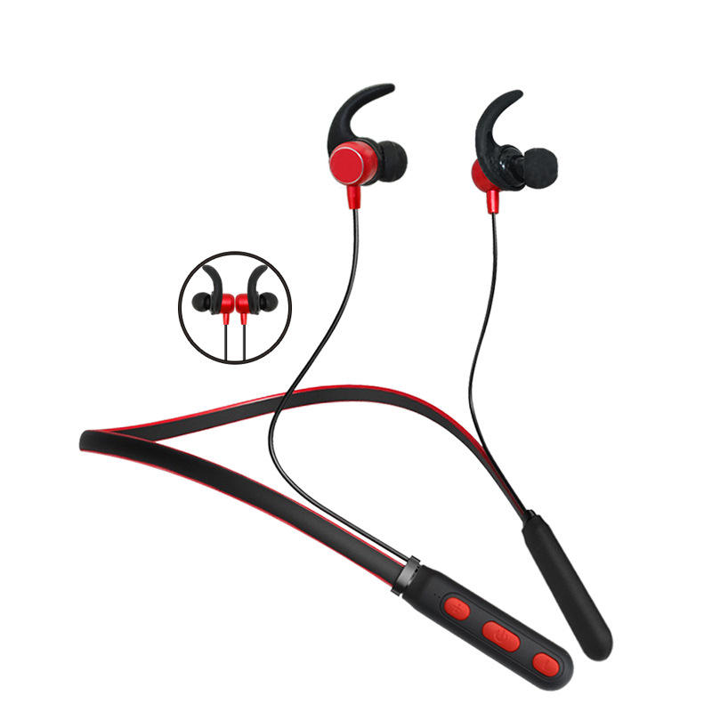 Wireless Ear Buds, Anti Failing In Ear Gym Stereo Neck Band Sport Earbuds For Running Magnetic Wireless Earphone Headphone//