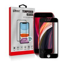 Vmax  wholesale 9H  3D drop glue Full Cover cell phone Tempered Glass Screen Protector for iphone SE 2020