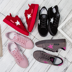 Size:35-43  witht star shoes and sneakers for  women J02