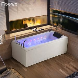 corner therapy whirlpool bathtub combo  cheap acrylic bath tub hydromassage  luxury water massage bathtub