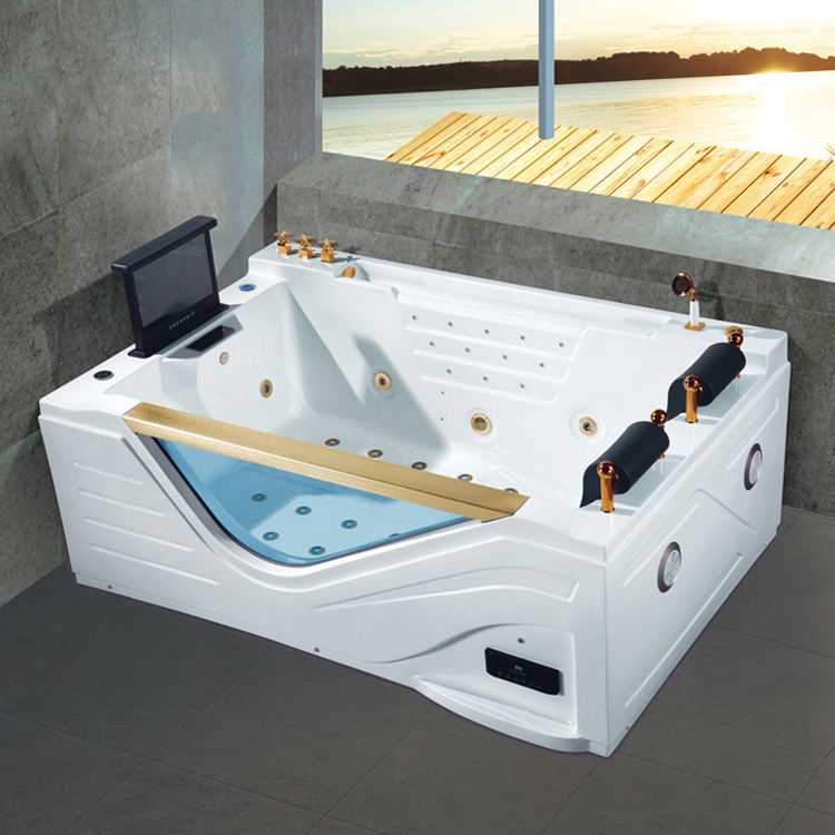 Europe Control 140 Jets Outdoor Spa Hot BATHTUB Jacuzzi Function