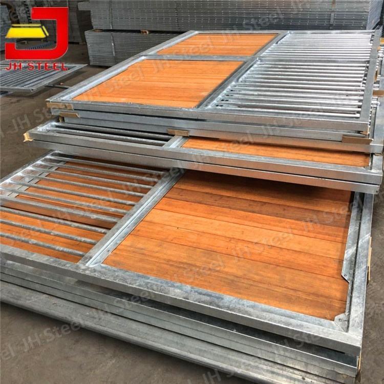 高耐久性広葉樹スラット竹ボード/プランク馬/ウマ安定したパネル