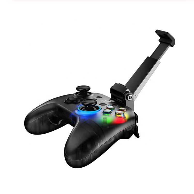 GameSir T4 PRO Gamepad Bluetooth 2.4GHz Wireless Game Controller support iOS / Android / PC / Switch Pubg games with holder