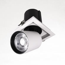 Adjustable rotatable gimbal spot light led down light fixtures for shop