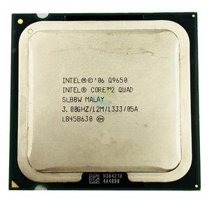 עבור Intel Core 2 Quad Q9650 3.0 GHz Quad-Core מעבד מעבד 12M 95W LGA 775
