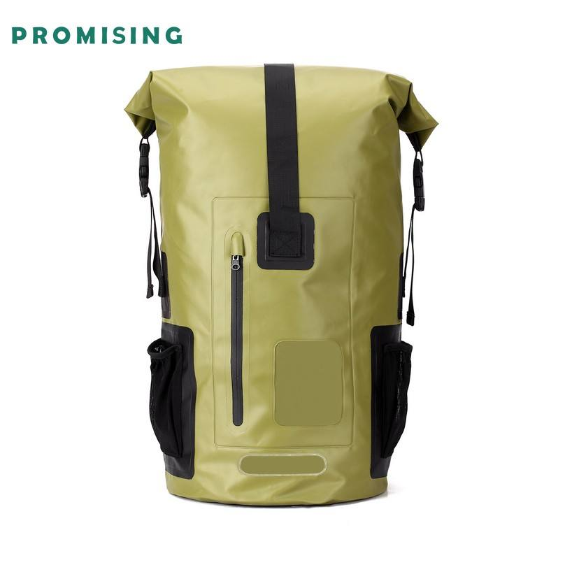 Promising OEM Transparent Tactical Military Waterproof Duffel Backpack Promotional Ripstop Dry Bag With Logo