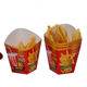 Biodegradable Custom Design Printed Cheap Factory Price Food Grade Paper French Fries Packaging Box For Wholesale