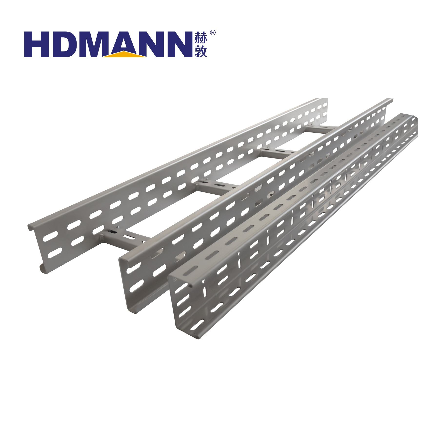 Manufacturer Prices 200mm 300mm 600mm Galvanized Steel cable Ladder Cable Tray