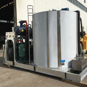 25Ton/24hrs Fresh Water Flake Ice Machine Maker for Slaughter Plant