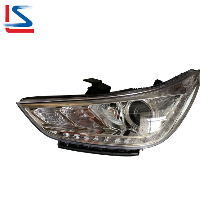 Auto LED Head Lamp for Hyundai ACCENT 2017 2018 2019 2020 WHITE 92101-H6500 92102-H6500 Headlight