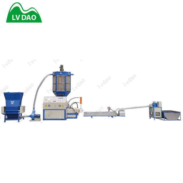 energy-efficient EPS foam recycling and pelletizing machinery