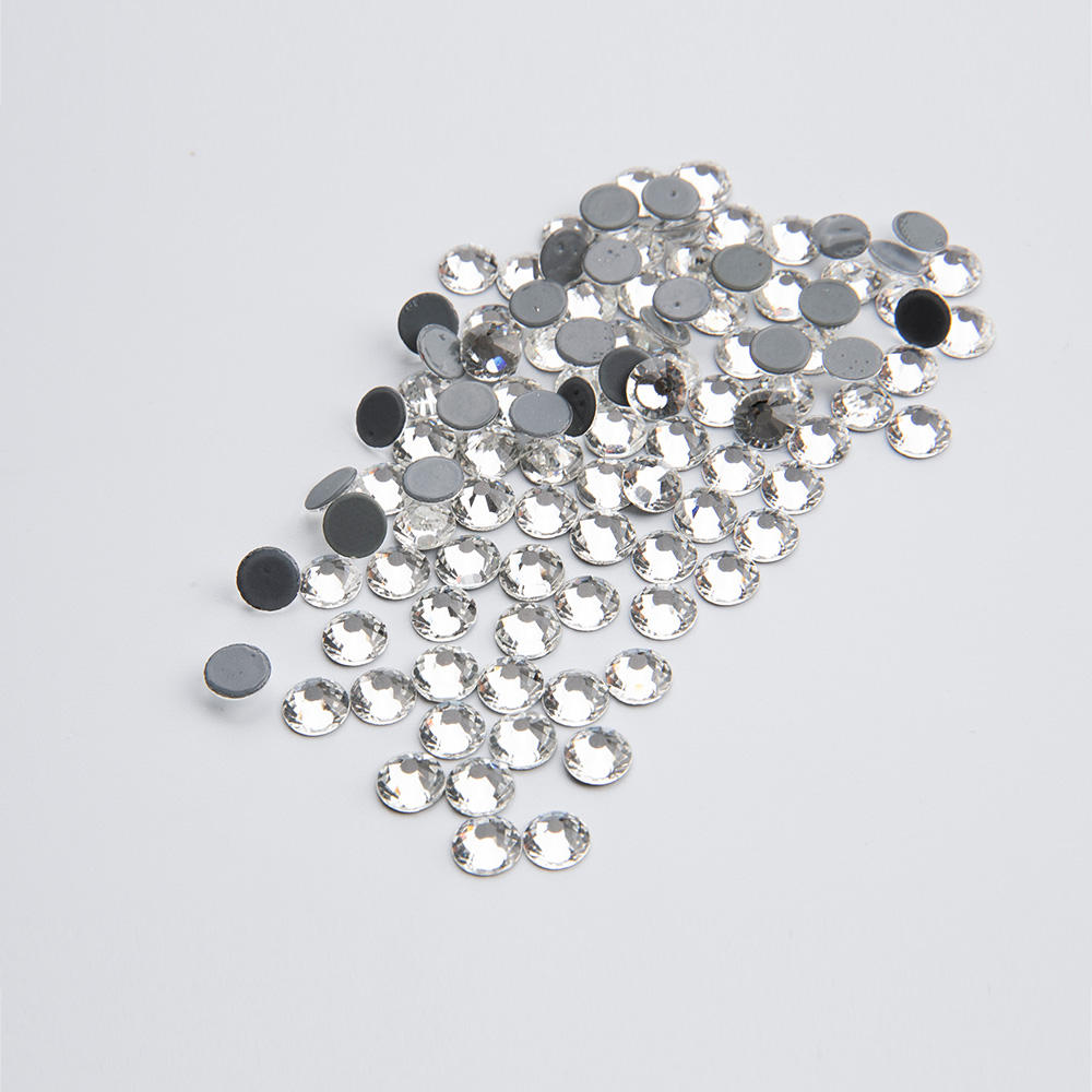 50 Clear Flatback Acrylic Big Sewing Rhinestone Teardrop Sew On Beads 28X17mm