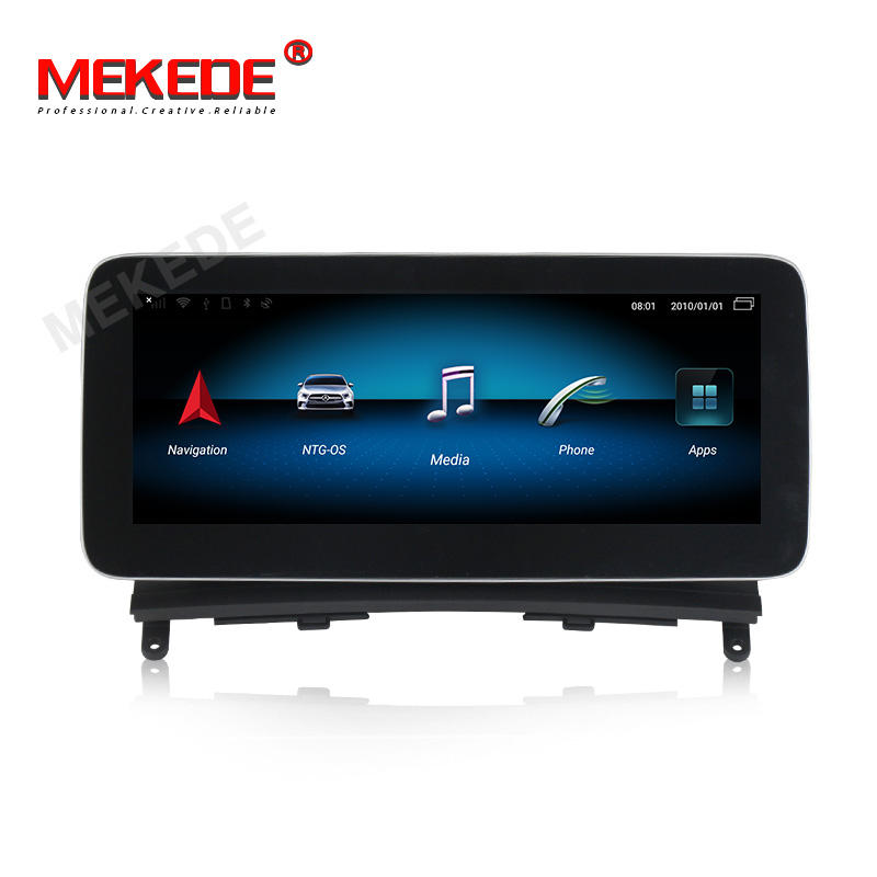 "MEKEDE 10.25 ""Android 8Core 8 + 128GB Android Car Dvd Player Cho Benz C Class W204 2008-2010 NTG4.0 WIFI BT Video Đài Phát Thanh Carplay"