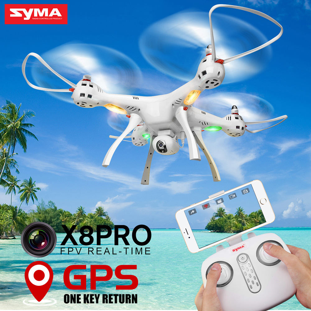 Nieuwste Syma X8PRO Gps Drone Rc Quadcopter Met Wifi Camera Fpv Professionele Quadrocopter X8 Pro Rc Helicopter Kan Toevoegen 4K Camera