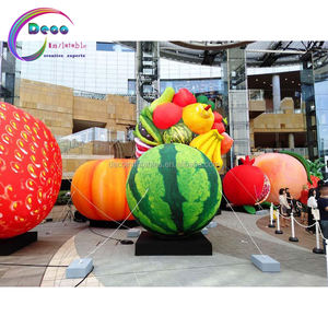 Inflatable Huge Advertising Decoration Inflatable fruit model Inflatable watermelon