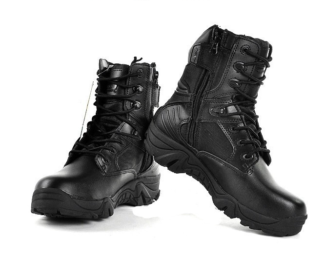 Hot Selling Mountain Traveling Military Equipment Tactical Desert Combat Shoes