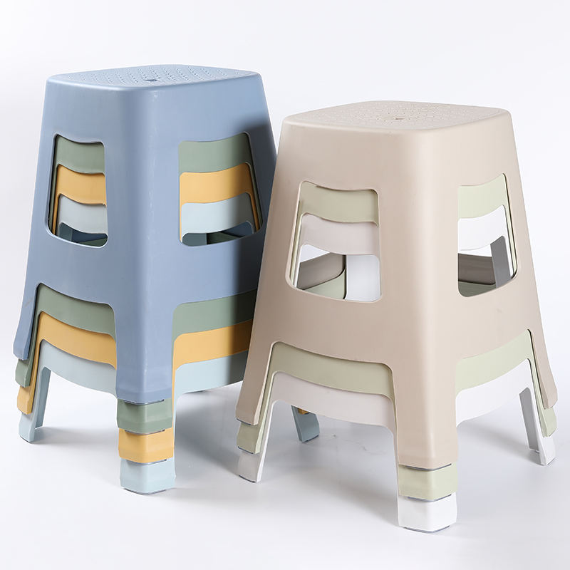 Exclusive Design Plastic Chairs Stool Chinese Stool