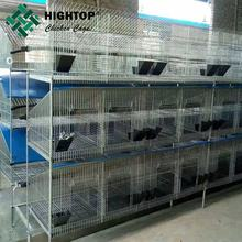 cheap outdoor automatic 3 story easy clean metal rabbit cage price
