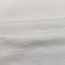 Wholesale Soft Organic Cotton Fabric White Eco Friendly Jersey Fabric
