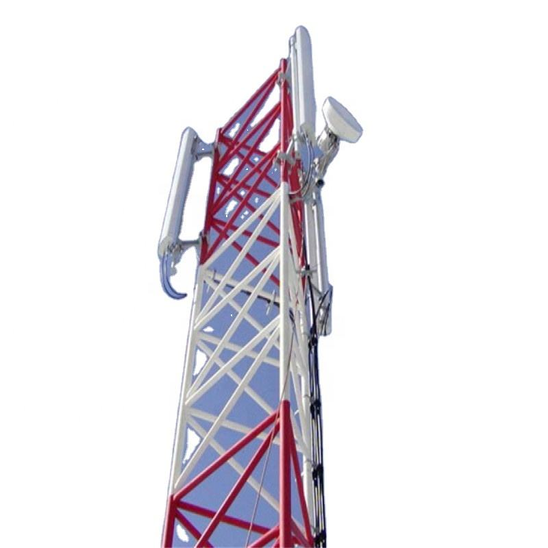 Top quality power line communication antenna tower