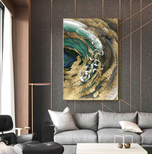 Decor Paintings Art On Canvas Abstract Wall Living Room Posters Landscape Oil Contemporary Mountain Prints Nordic Painting