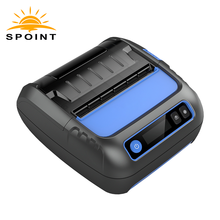 Hot sale handheld mobile 80mm bluetooth thermal printer with receipt and barcode printing function