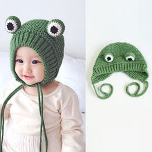 100% cotton comfortable knit earflap hat, baby hat beanie kids winter hats
