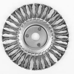 Circular Twist Knotted Steel Wire wheel Brush For Sale  Weld blending