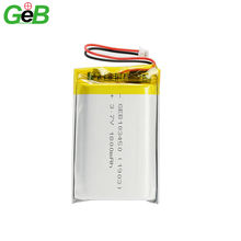 Wholesale custom rechargeable 3.7V 37V 1800mAh lithium polymer batteries 103450 li-ion prismatic lipo battery