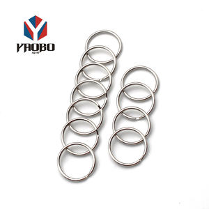 Moderate Price Logo Custom Metal Chain Keychain Split Key Ring For Hotel Tag